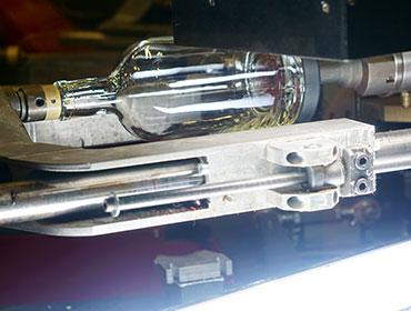 photo of bottle decoration process